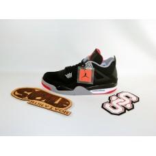 Air Jordan 4 'Black Red'