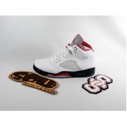 Air Jordan 5 'White Varsity Red'