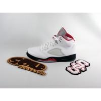 Air Jordan 5 'White Varsity Red'